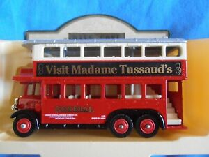 DG49 019 AEC Renown Double Deck Bus -General, Madame Tussauds, Dest.Baker Street