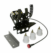 Carreras-pedalerie, racing pedal Box, bmw e36 Racing, rally, unidad pedal