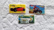 TURBO POWER 3 PIECES VERY RARE BUBBLE GUM STICKERS WRAPPER PICS VINTAGE