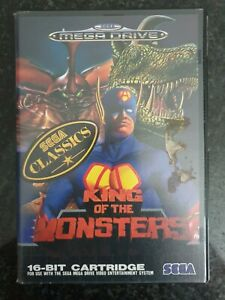 SEGA Megadrive - King Of The Monsters Tested & Working