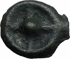 ISTROS Thrace 500BC Wheel Money Authentic Ancient Greek Coin BLACK SEA i48210