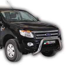 PARE BUFFLE pour Ford Ranger 2012 - 2019 HOMOLOGUE INOX DIAMETRE 76