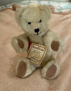 Hermann Limited Edition Jointed Teddy Bear.  53 of a 2000. Mohair. Vintage.