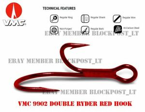 VMC 9902 - Double Ryder Red hook/ Fishing style(s): Predator