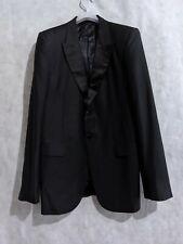 Alexander McQueen Archive 2007 Runway Tuxedo Jacket Blazer Size 52 Italy