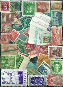 Box Lot of Stamps - Europe and  Worldwide - 1100+ Unsorted - Off Paper