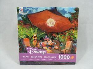 Disney Fine Art 1000 Piece Puzzle Series 2 Mickey & Minnie James Coleman