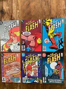 THE FLASH #341 #342 #343 #344 #345 #346 DC Comics 1984 ^