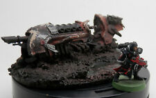 Warhammer 40k Terrain Scenery Wrecked Buried Scimitar Pattern Jetbike Forgeworld