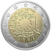 2 euro Lettonia 2015 Bandiera Europea