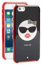 NEW Kate Spade Shady Lady Phone Case Hybrid Hardshell iPhone 6 6S Girly Glasses