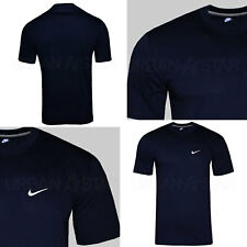 767b17dd5 New Mens Nike T-Shirt Retro Gym Sports Nike Logo Top Crew Neck Tee S M L