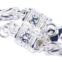 Silber Armband Armkette Panzerkette Königskette Massiv damen Herren Männer ye