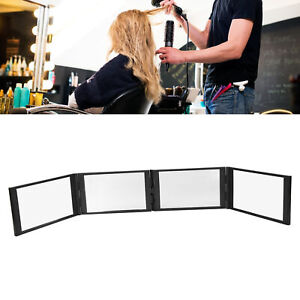 Minnow 360 Degree Foldable Makeup Mirror Home Travel Hair Building Fiber Mirror