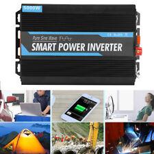 Inversor de corriente de onda sinusoidal pura 12V a 220V 5000W con adaptador USB