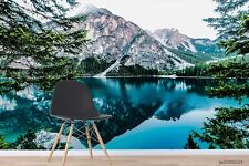 New Listing3D Mountain Lake Landscape Wallpaper Wall Murals Removable Wallpaper 253
