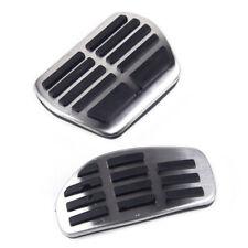 Gas Fuel Brake Foot Pedal Pad Plate Kit Set Trim For Nissan Qashqai J11 2014-18