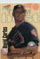 David Cortes 1998 Team Best Best Signature Series Auto Autograph