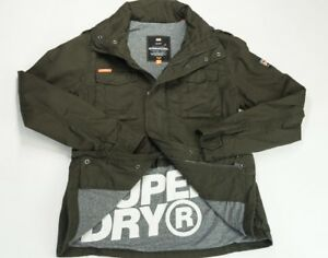 Superdry Classic Rookie Military Jacket Abrigo para Hombre