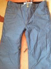 Burton Analog Snowboard Ski Denim jeans insulated Pants. Men's large