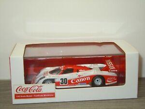 Lola T810 Nissan Fairlady Z 1985 Coca Cola - TSM True Scale 1:43 in Box *53489