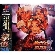USED Metal Slug X Japan Import PS