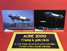 Unstoppable Space 1999 Series 2 Acme3000 Dealer Promo Cards EMP1 & EMP2