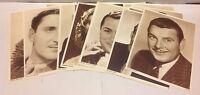 Collectible 14x Trading Cards Portrait Movie Memorabilia Danish Vtg Magazines