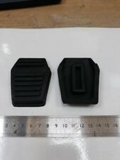 fits FORD Escort Mk2 Mk3  Pair of Pedal Rubbers Clutch & Brake