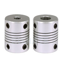 5Pcs CNC Motor Jaw Shaft 5mm To 8mm Coupler Flexible Coupling OD 19x25mm D19L25