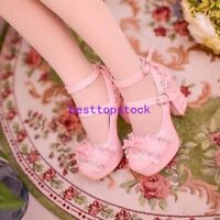 Sweet Lace Up chunky Heel Lolita Ankle Strap Platform Women's Shoes Mary Jane sz