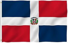 Anley Dominican Flag Dominican Republic Banner Polyester 3x5 Foot Country Flags
