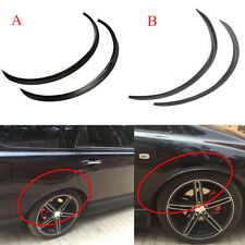 Universal Car Flexible Fender Flares Durable Over Fenders Wheel Arches Black