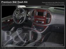 Dash Trim Kit for MERCEDES METRIS 16 17 carbon fiber wood aluminum