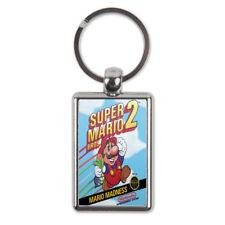Super Mario 2 Metal Keyring