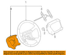 GM OEM Steering Wheel-Rear Cover Panel Trim 16824540