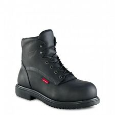 New Redwing 3217 Black Mens 6 Inch Safety Boot S3 Metal Free Cap & Midsole EU48