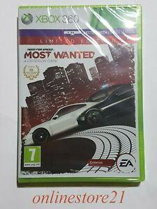 Need For Speed Most Wanted Limited Edition Xbox 360 Deutsch Französisch NEU