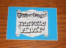 Groovie Ghoulies Travels With My Amp Sticker Rectangle 2000 Promo 4x3 RARE