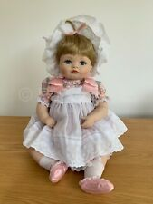 "Hamilton Collection 1989 Porcelain 17"" Baby Doll 'Jessica' Connie Walser Derek"