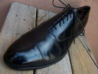 Details about  /Allen Edmonds Park Avenue Men's Black Leather Dress Shoes Cap Toe Oxford Sz 12D
