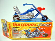 Matchbox SF Nr. 71B Jumbo Jet dunkelblaumetallic top in Box