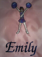 Personalised Cheerleader/Pe/School/Spo rts Drawstring Bag