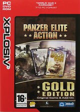 PANZER ELITE ACTION *** GOLD EDITION *** - PC GAME (Brand New & Sealed)