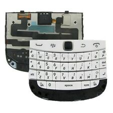 BLACKBERRY Bold 9900 9930 Keypad Keyboard Trackpad Flex Membrane Ribbon WHITE
