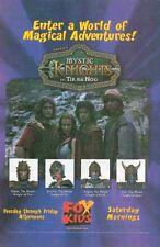 Mystic Knights of Tir Na Nog: FOX Kids: Great Original Photo Print Ad!
