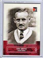 CONN SMYTHE 10/11 ITG Canadiana Red Ruby Base Card #14 Toronto Maple Leafs