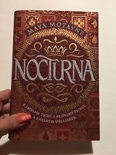 Nocturna by Maya Motayne: New First Edition With Dust Jacket