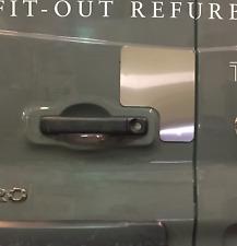 Vauxhall Vivaro 2014-2019 Repair/Protection Plate - Rear Barn Doors (Anti-Drill)