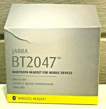 Jabra BT2047 Wireless Bluetooth Headset for Smartphones Hands Free Black
